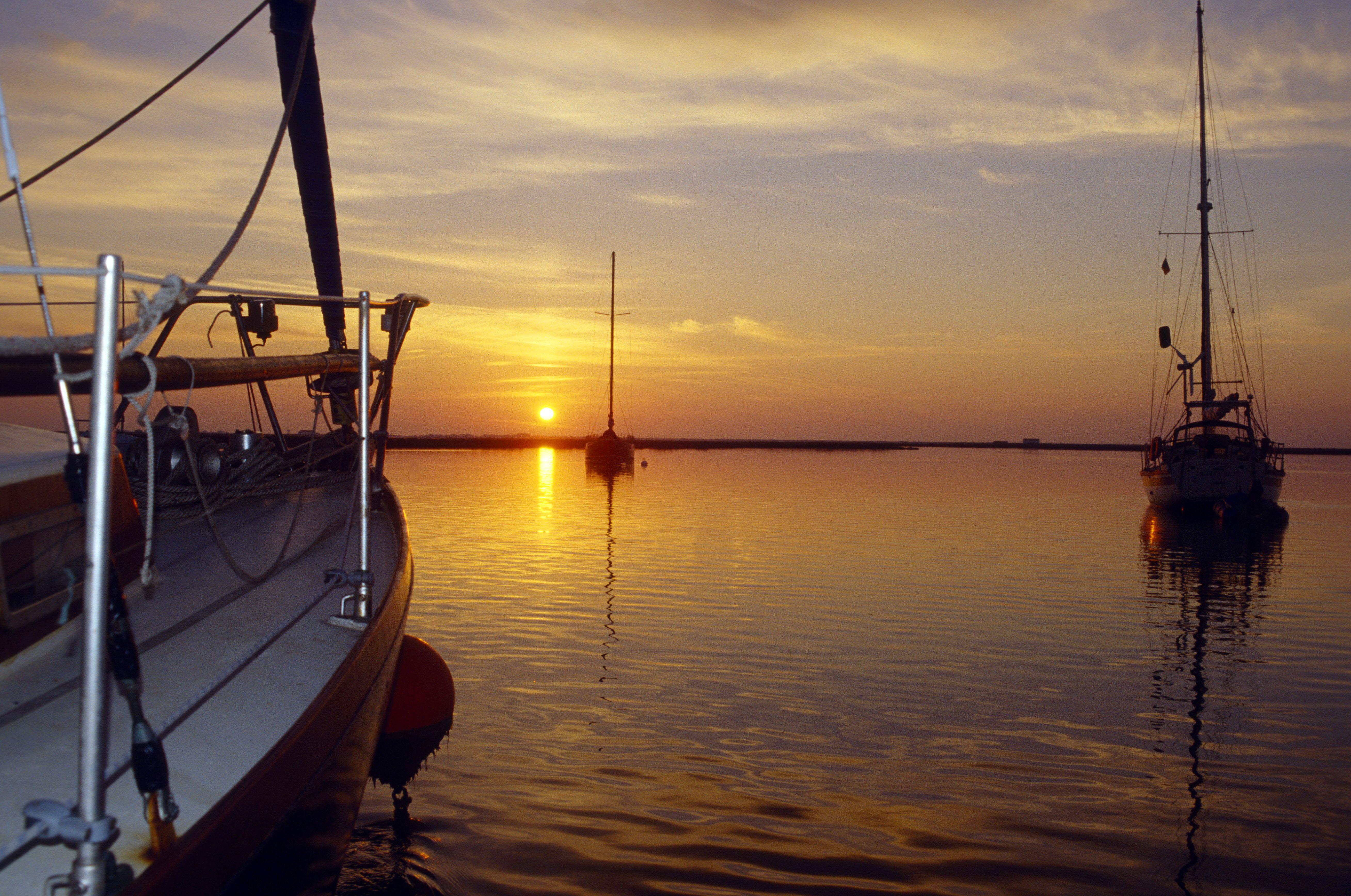 Sunset in Faro